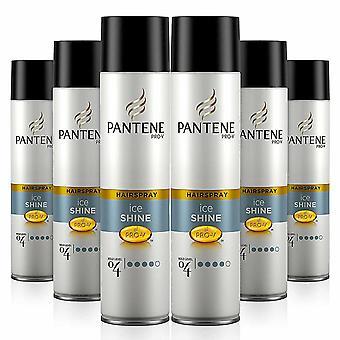 Pantene Pro-V Style Hair Spray Ice Shine, Pack van 6, 300ml