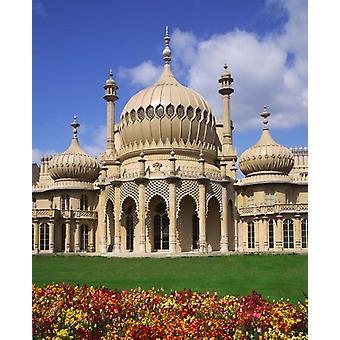 Royal Pavilion di Brighton Sussex orientale Inghilterra Poster stampa di Paul Thompson