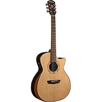 Other 6 string acoustic-electric guitar, right, natural (wcg20sce-o)