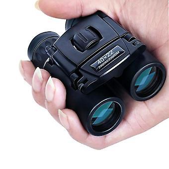 HDパワフル双眼鏡、折りたたみ小型望遠鏡、屋外用Bak4 Fmc光学