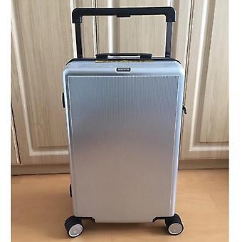 Squisita valigia da viaggio spinner per bagagli a leva grande