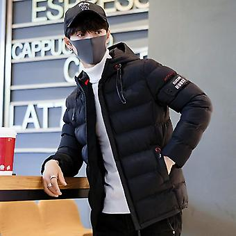 Men Winter Jacket Coat Hooded Warm Windproof Parkas Mens Thick Parka Casual