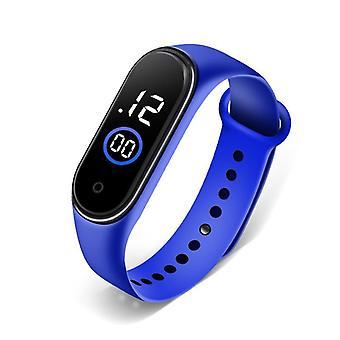 Waterproof Boys Girls Digital Led Quartz Alarm Date Sports Wrist Watch