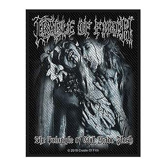 Cradle Of Filth Patch Principle of Evil Made Flesh Band Logo new Official