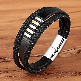 Bracelets à boutons magnétiques