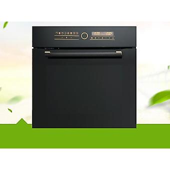 Household Automatic Oven Touch Baking Oven (black)