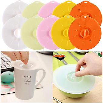10 Pieces Siliconelid Mug Cup Cover