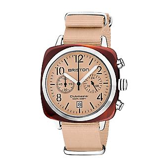 Briston 20140.SA.T.36.NTN Clubmaster Classic Terracotta Acetate Wristwatch
