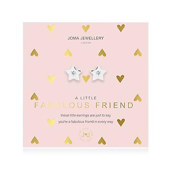 Joma Jewellery A Little Fabulous Friend Silver Earrings 4388