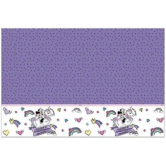 Nappe Minnie Unicorn Purple 120 x 180 Cm