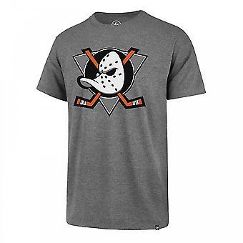 '47 Nhl Anaheim Ducks Imprint Splitter T-shirt