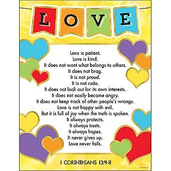 Carte de versets d'amour