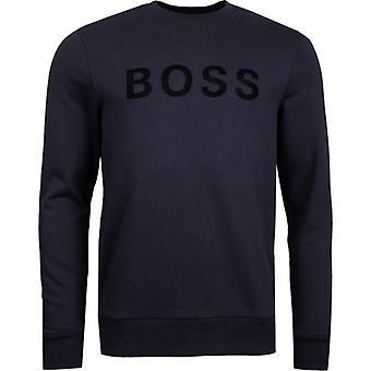 BOSS Stadler 50 Chest Logo Crew Neck Sweat