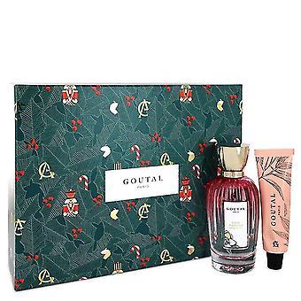 Annick Goutal Rose Pompon Cadeau Set By Annick Goutal 3,4 oz Eau De Toilette Spray + 1,3 oz Baume à main jardin