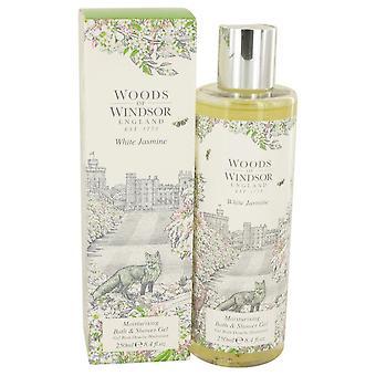 White Jasmine Shower Gel By Woods Of Windsor 8.4 oz Shower Gel