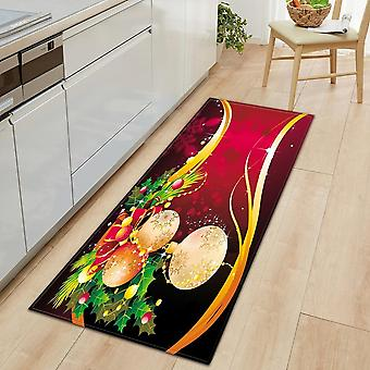 Christmas Kitchen Mat, Entrance Doormat For Living Room Bedroom Floor