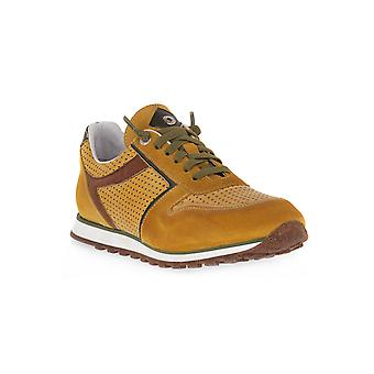 Exton ochre antic shoes