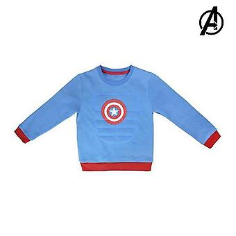 Children's sweatshirt without hood captain america the avengers 73178