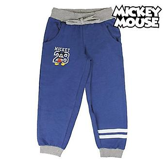 Children's tracksuit bottoms mickey mouse 74138 navy blue