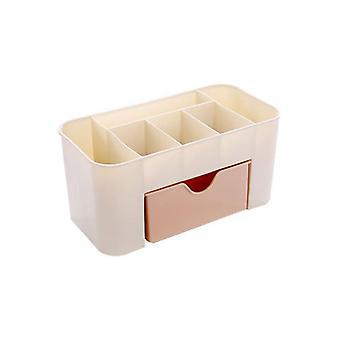 Cosmetische sieraden opberglade, duurzame plastic make-up borstel box