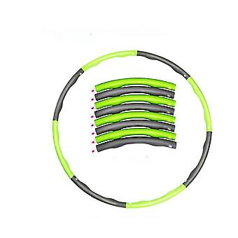 1kg Adjustable Soft Weighted Hula Hoop Fitness Ring For Kids And Adult