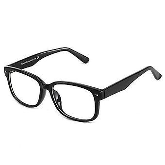 Blaulichtfilter Computerbrille zur Blockierung von Kopfschmerzen Transparent