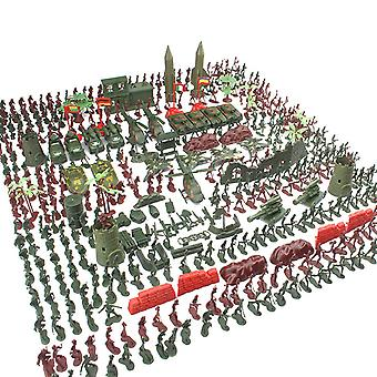519pcs Military Soldiers Figures Accessories Playset