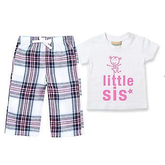 Kleine Sis Tartan Hose Pyjamas
