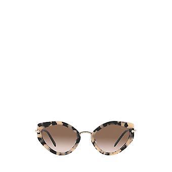 Miu Miu MU 08XS havana pink female sunglasses