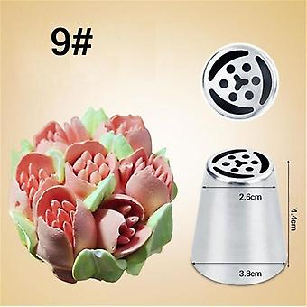 Russian Tulip Icing Piping Stainless Steel Flower Cream Pastry Tips Nozzles Bag