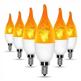 الصمام محاكاة مصابيح اللهب 15w E14 E27 B22 85-265v لوس مصباح الإلكترونية الرئيسية