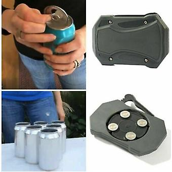 Go Swing Topless Can Opener Tool Safety Simple Manual Can Opener