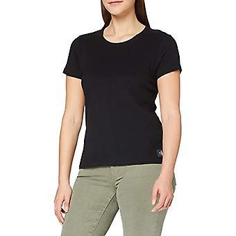 Calvin Klein CK Jeans CK Black T-Shirt, Woman