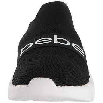 Bebe Womens Aindrea Low Top Pull على أحذية رياضية للأزياء