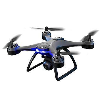 Pro Rc Quadcopter Droner - Wifi Gps Hold, Foldbar arm-vidvinkel, dobbelt kamera
