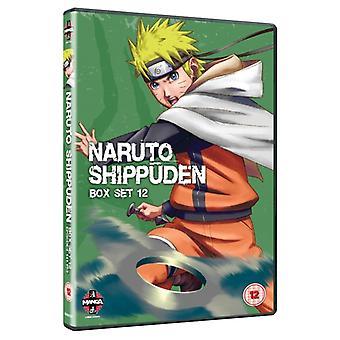 Naruto Shippuden Box 12 Episodes 141-153 DVD