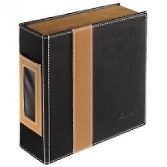 Hama CD-ROM/CD-ROM Album 28, Black/Brown - 00078385