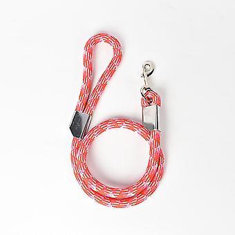 120Cm*20mm red pet leash reflective medium large dog rope nylon rope dog leash dt8350