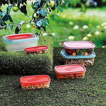 Ensemble de 5 boîtes à lunch Quid Habitat Plastic