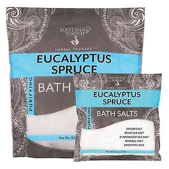 Soothing Touch Bath Salts, Eucalyptus Spruce 32 Oz