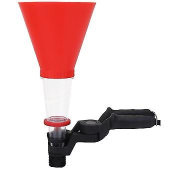 2Pcs car universal oil funnel plastics engine system threaded type adjustable