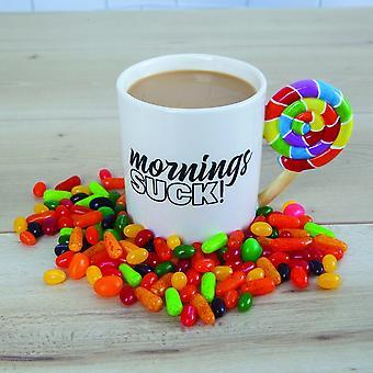 BigMouth Inc. Mornings Suck Mug
