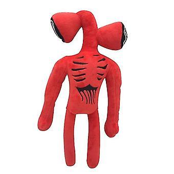 Siren Head Peluche Giocattolo Nero Gatto Bambola Regalo Romanzo Design (Rosso)