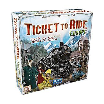 Ticket to Ride Europe - Family Board Game