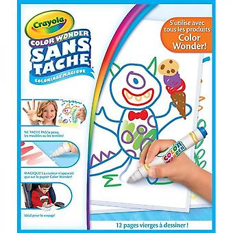 Crayola - Color Wonder White Pages Refill - Magic Coloring