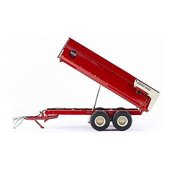 Beco super 1800 basculante trailer Diecast máquinas agrícolas
