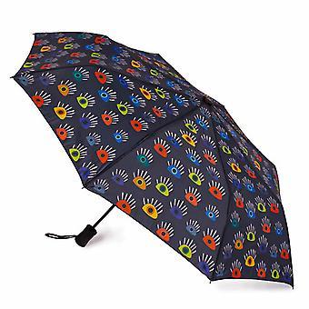 Biggdesign My Eyes on You Mini Parapluie, Coupe-vent, Tissu Pongee imperméable, 98 cm de diamètre, Automatique marche, off Parapluie de voyage compact