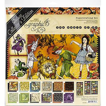 Graphique 45 Deluxe Collector-apos;s Edition Pack 12-quot;X12-quot; - Magic Of Oz