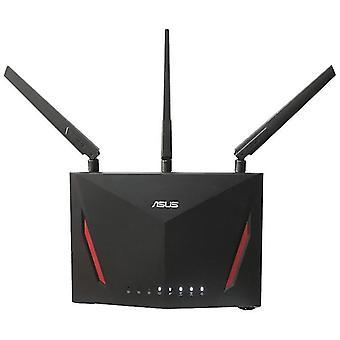ASUS واي فاي راوتر RT AC86U AiMesh الرئيسية الكاملة واي فاي نظام 802.11AC ثنائي النطاق الموجهات اللاسلكية