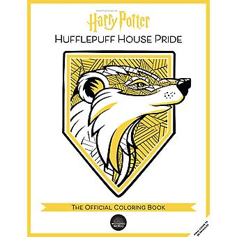 Harry Potter Hufflepuff House Pride The Official Coloring Book  Gifts Books for Harry Potter Fans Adult Coloring Books by Insight Editions